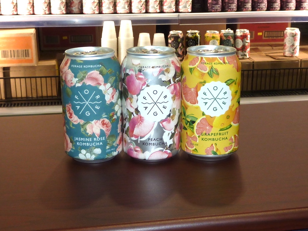 Natural Products Expo East 2021 in Philadelphia best packaging Forage Kombucha
