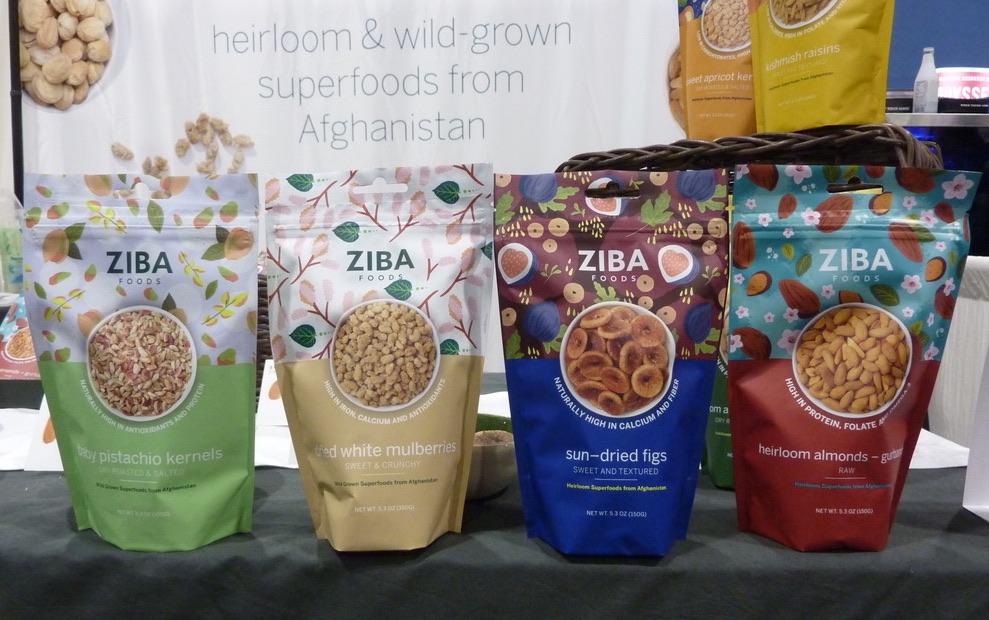 Natural Products Expo East 2021 in Philadelphia best packaging Ziba Foods