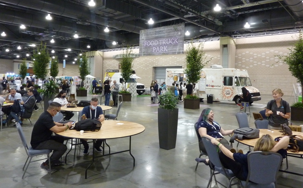 Natural Products Expo East 2021 in Philadelphia had The Organic Park